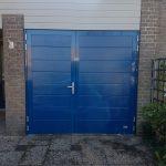 Openslaande garagedeuren tonsmitdeuren.nl