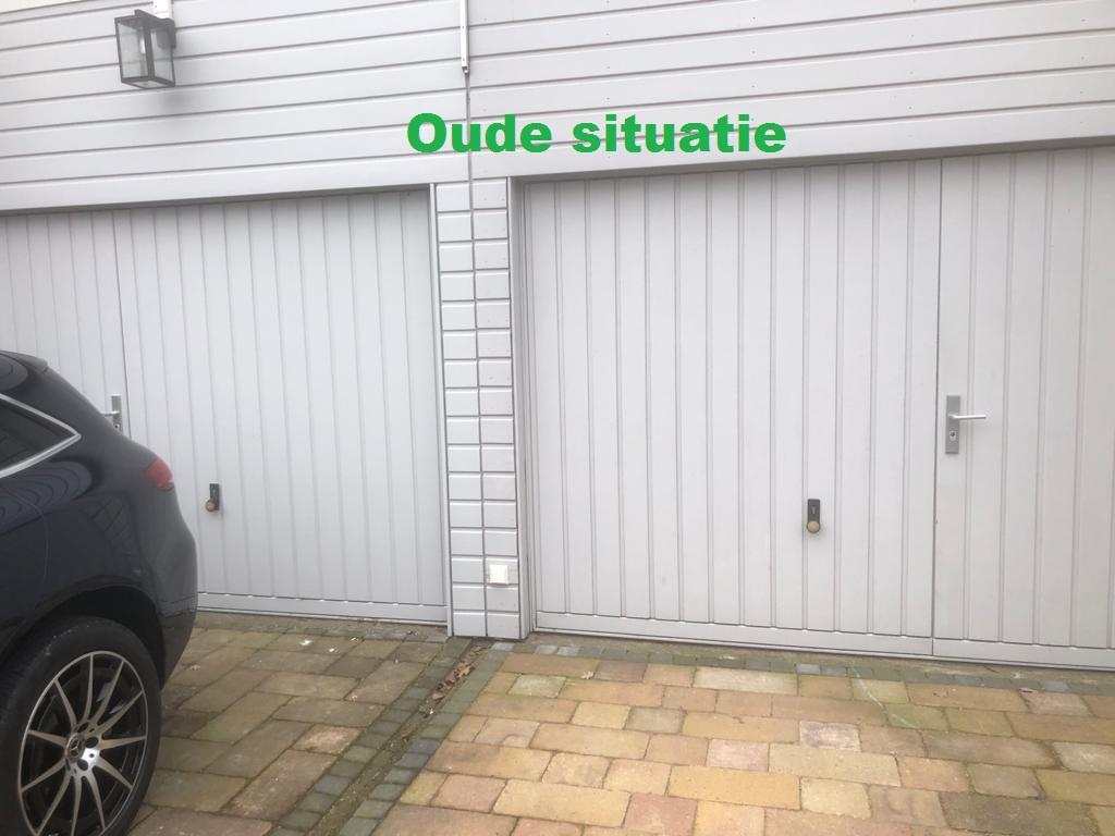 kanteldeur met loopdeur tonsmitdeuren.nl