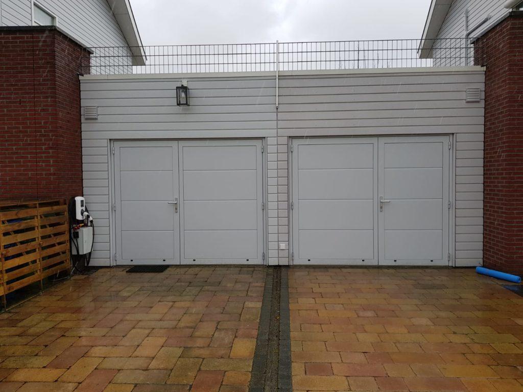 gladde openslaande garagedeuren tonsmitdeuren.nl