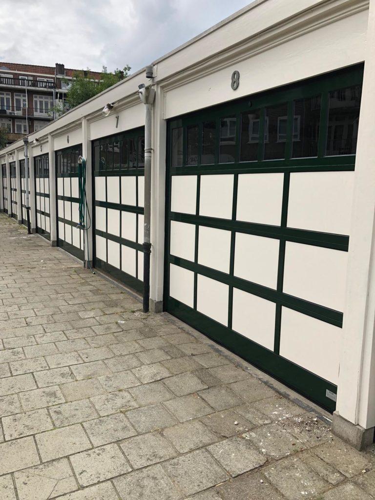 12 speciale garagedeuren in Amsterdam