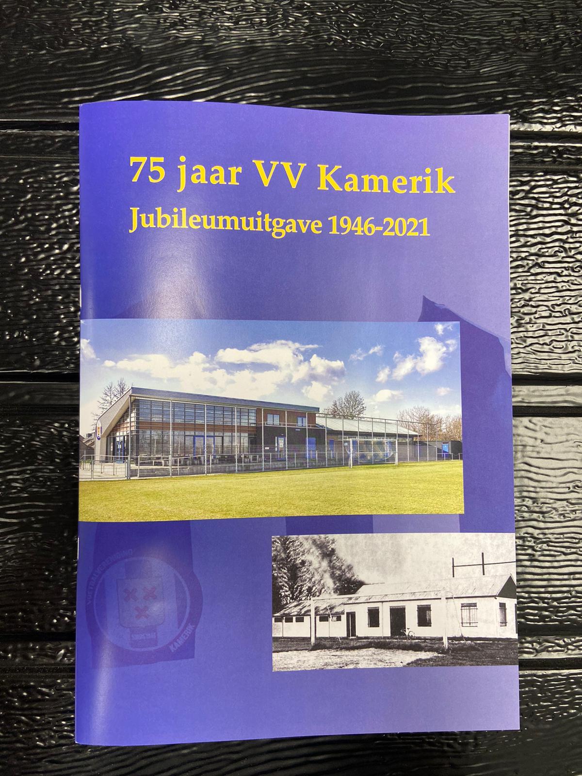 75 jarig jubileum voetbalvereniging Kamerik